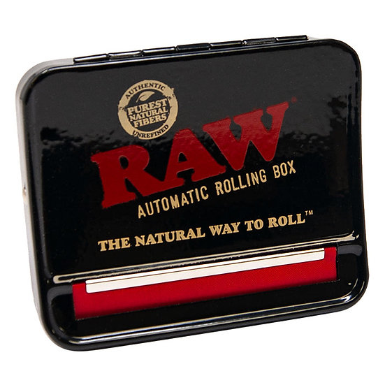 Raw Black Adjustable Automatic Rolling Box 79mm