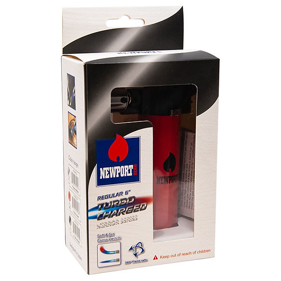 Newport Zero Red 6 Inch Torch Turbo Charged