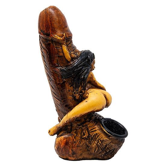 Bad Girl Terracotta Pipe