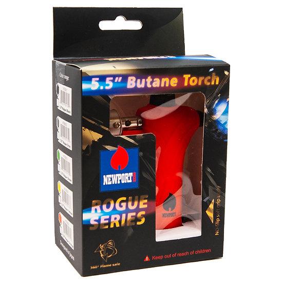 Newport Zero Rogue Red 5.5 Inches Butane Torch