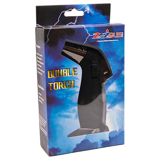 Z-Zeus Zero Mini Jumbo Black Double Torch