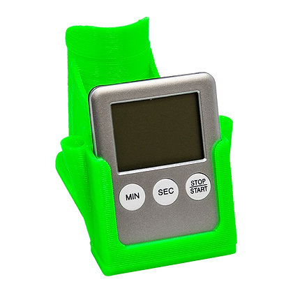 Green Dabbing Stand With Timer