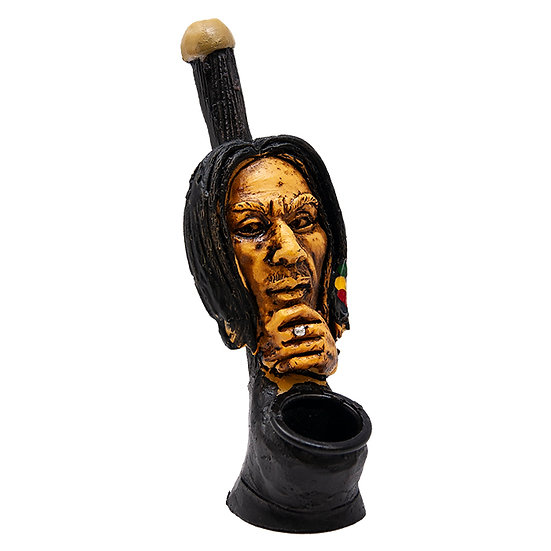 Rasta Thinking Terracotta Pipe
