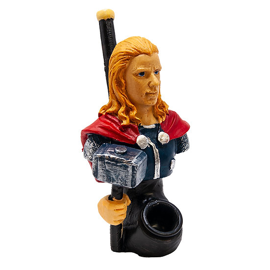 Thunder God Terracotta Pipe