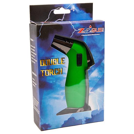 Z-Zeus Zero Mini Jumbo Green Double Torch