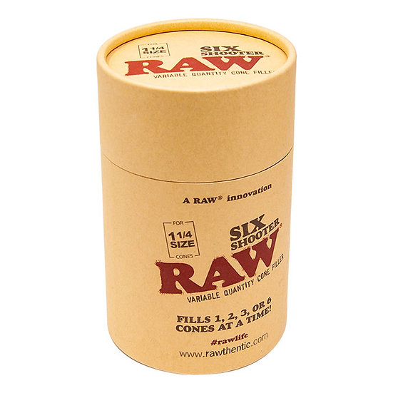 Raw Six Shooter Cone Filler 1 1/4 Size