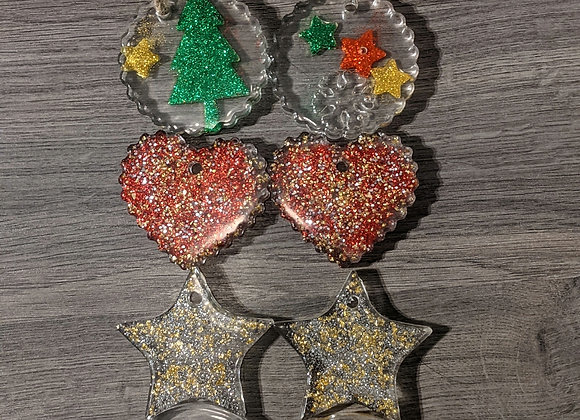 Tree Ornaments - 4 Pack