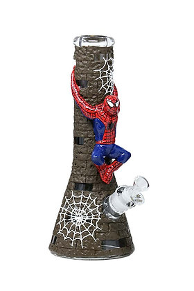 12.5 inch 3D-Wrap Spidey Beaker