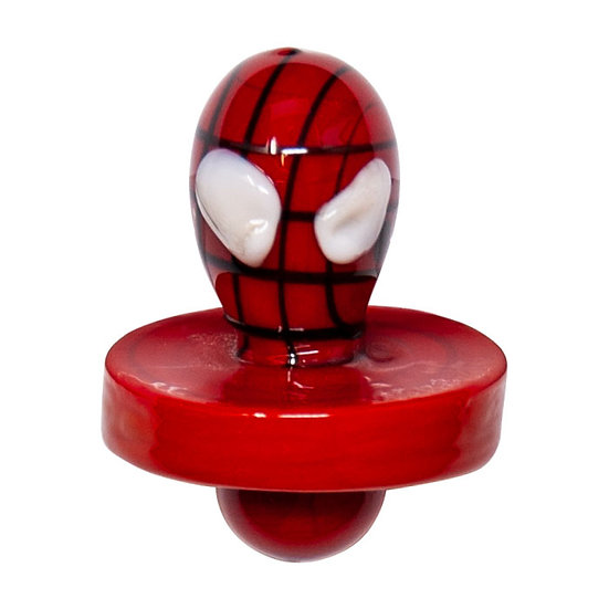 Spider-man Glass Carb Cap