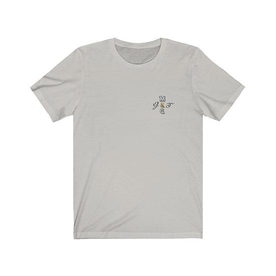 """""""M.G/G&S"""" Unisex Jersey Short Sleeve Tee- M.A.K Glass"""