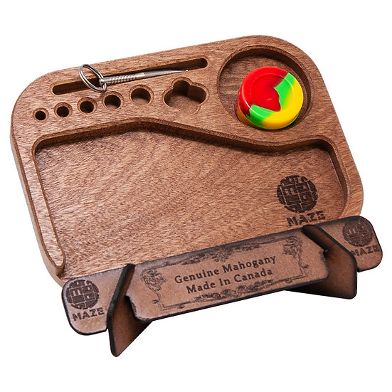 Compact Size Maze Rolling Tray - MAZE