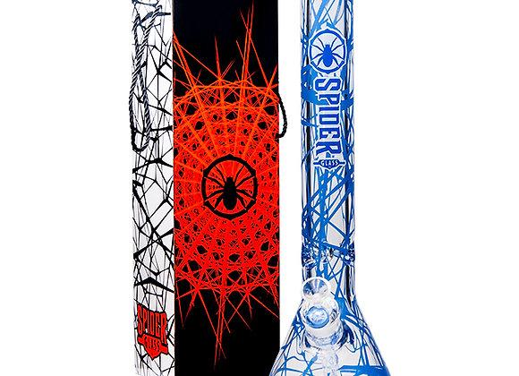 "Web Design 18"" Bong - Spider Glass"
