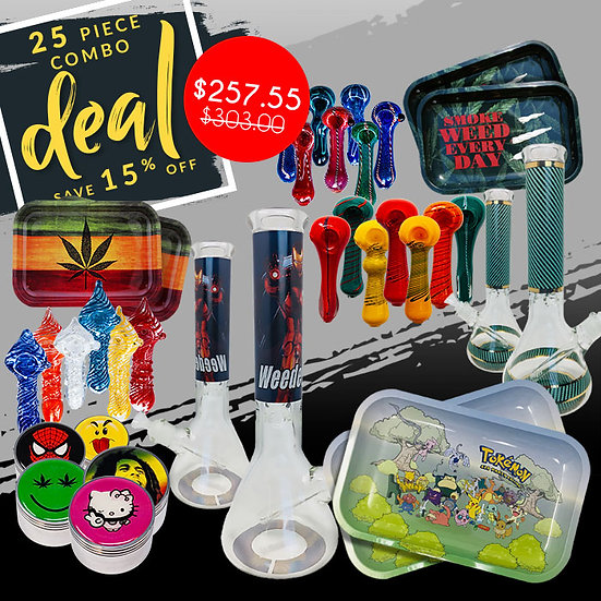 The Big Combo Deal - 25 Items