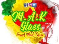 M.A.K Glass Logo