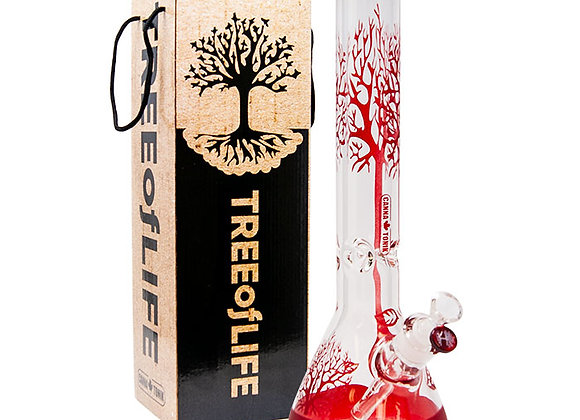 Red Tree Of Life Cannatonik 16 Inches Bong