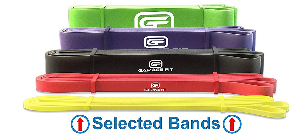Resistance Bands by Garage Fit on Amazon