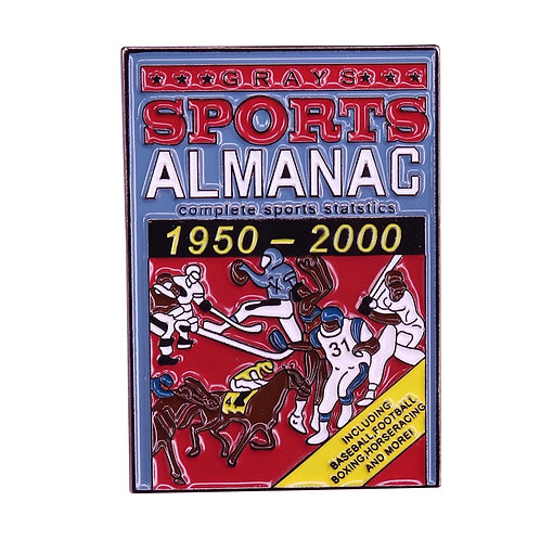 Complete Sports Statistics 1950 - 2000' Badge Inspired by Back to the Future!