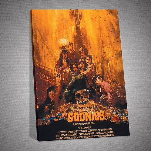 The Goonies Movie Poster Oil Painting on Canvas Print