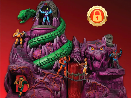 UNLOCKS AT 50 Beast masters: Mattel Masters of the Universe Classics Snake Mountain MISB!