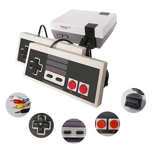 NES Mini Classic Edition Retro Video Games Console with 2 Controllers