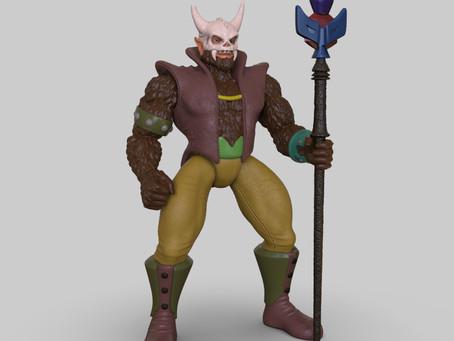 Skullagar's completed 3D Sculpt...