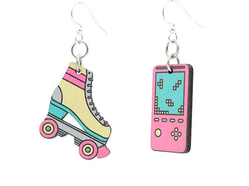 80's Retro Earrings #1654