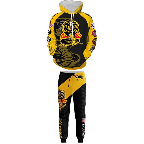 Karate Kid Cobra Kai Jacket Hoodie