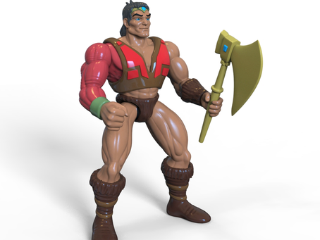 Masculon 3D sculpt is complete and ready for production...