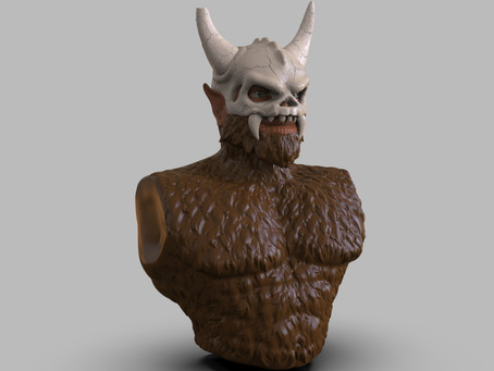 First image of Skullagar 3D sculpt...