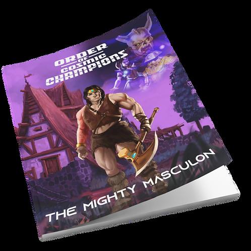 Order of Cosmic Champions™ Mini-Comic - The Mighty Masculon™