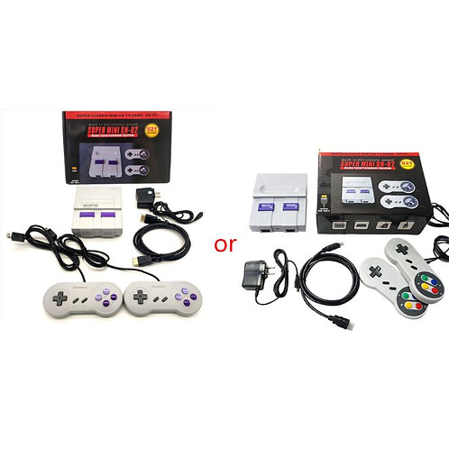 MINI Super NES Retro Classic Video Game Console With Dual Gamepads