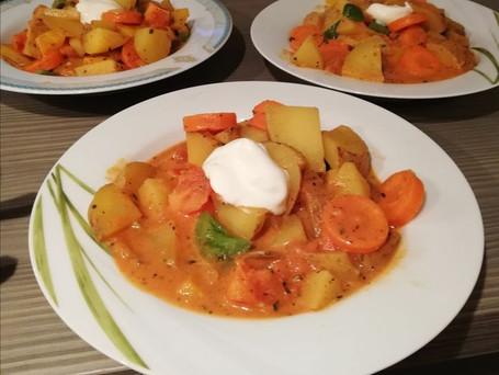 Currygemüse mit Kartoffeln
