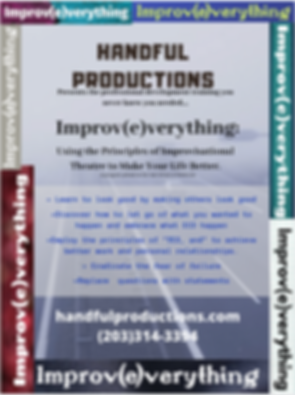 Improv(e)verything Professional Developm