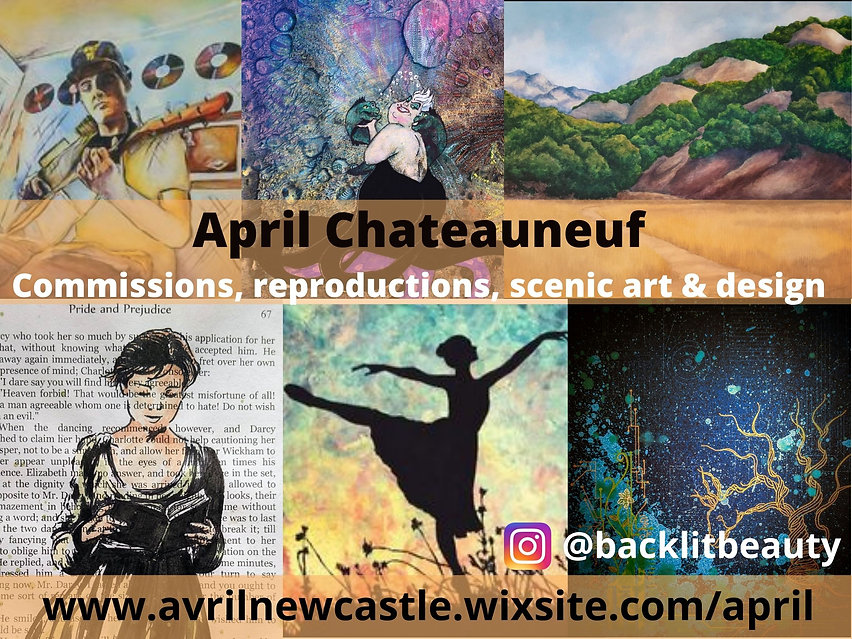 April Chateuneuf Commissions, reproducti