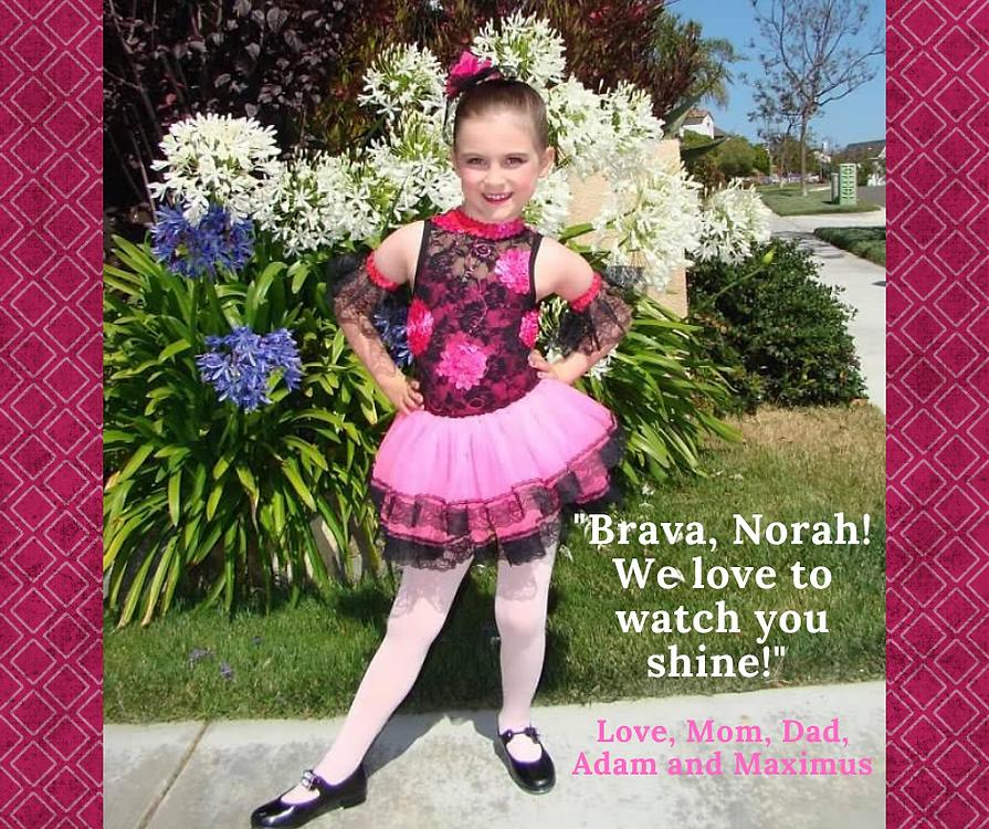 Brava, Norah! We love to watch you shine