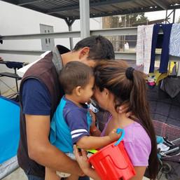 Family Seeking Asylum
