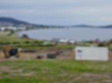 Bay views new homes families Hobart