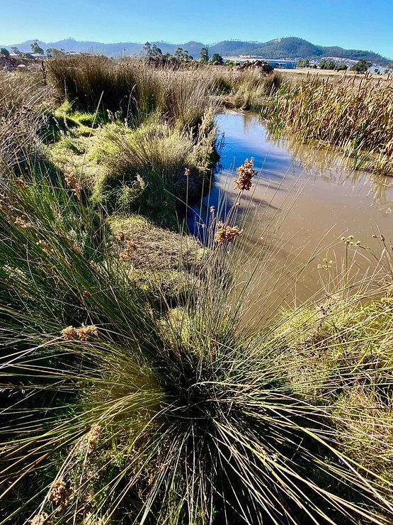 Hobart land water views