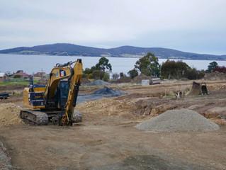 Construction underway in Stage 8