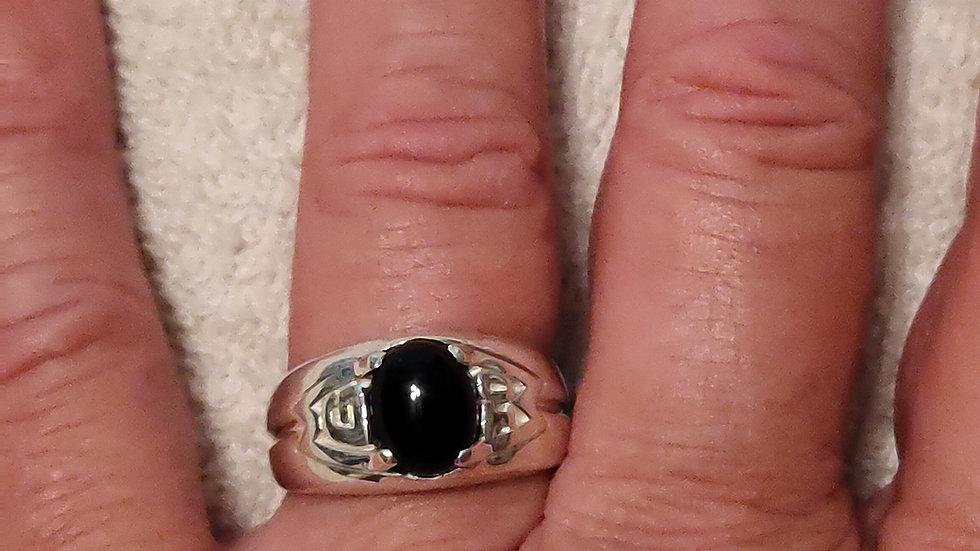 Black Pill Warrior Ring