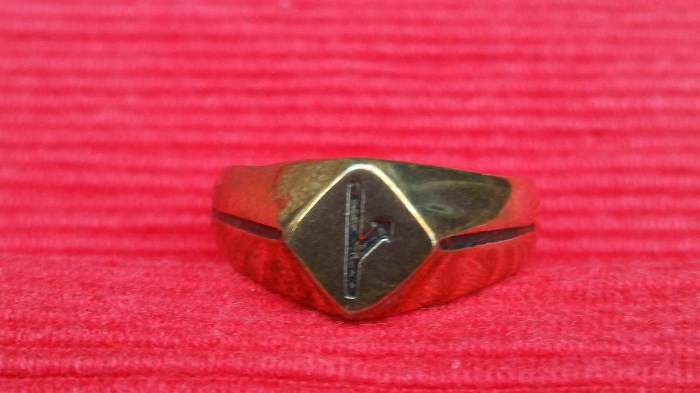 Defiance ring - bronze