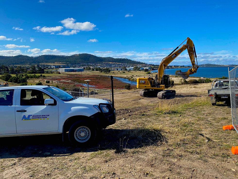 North Bay Tasmania Hobart land water vie