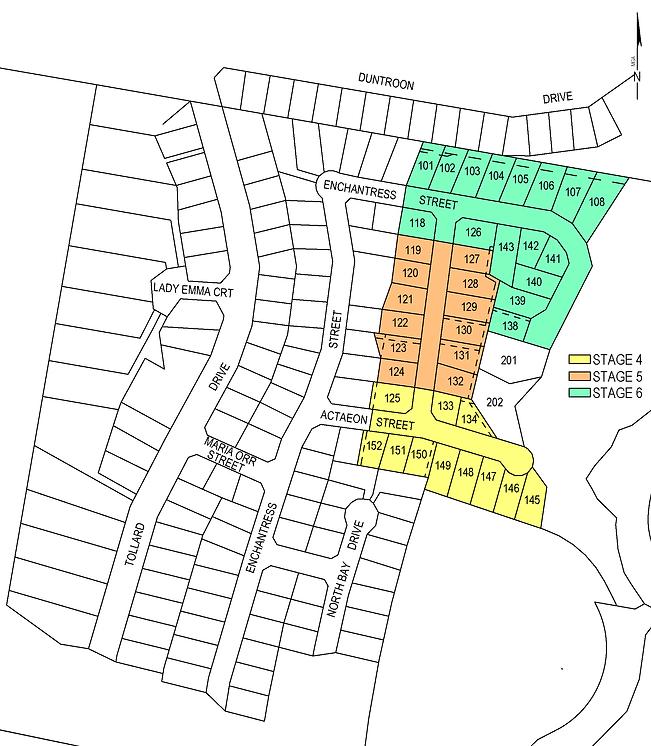 Hobart tas. New lots real estate
