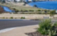 Hobart water views Tasmania land