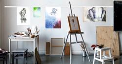 מסילות תלייה למרחבי אומנות