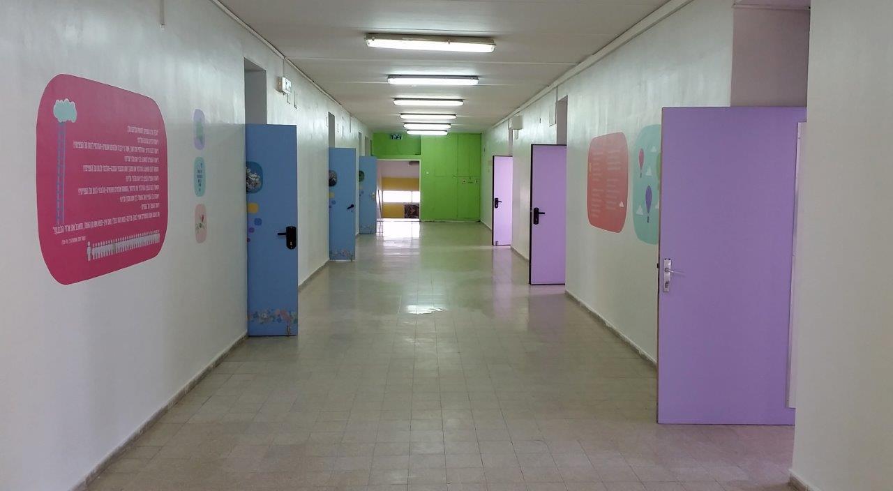 מסדרון כיתות