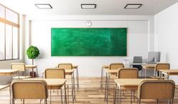 מחיצת מסך לעמדת מורה
