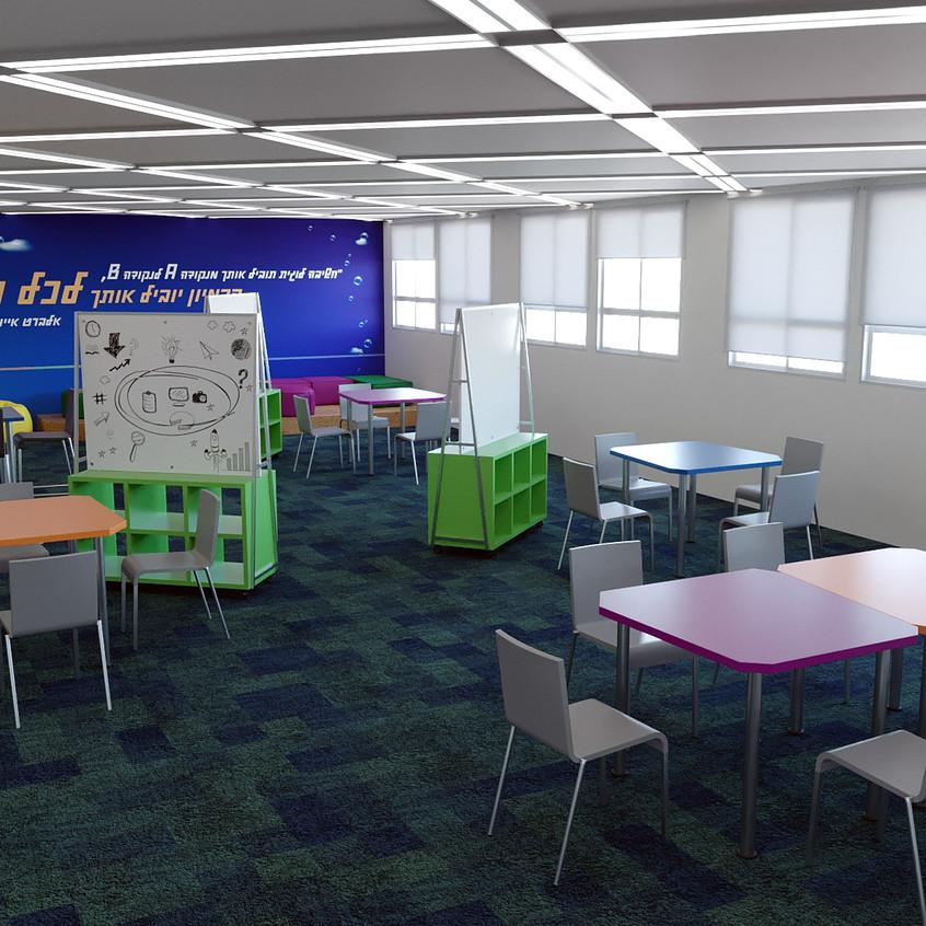 מרחב למידה מודולרי ללמידת PBL