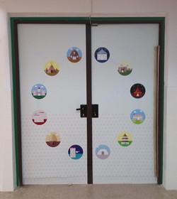 ציפוי דלת