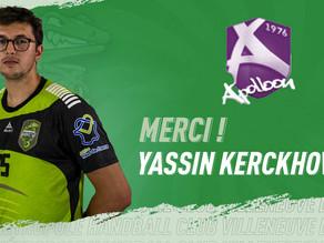 Merci ! Yassin KERCKHOVE